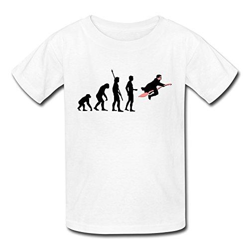 Youth Evolution Of Wizard Kids T-Shirt - Shirt Cain Matt