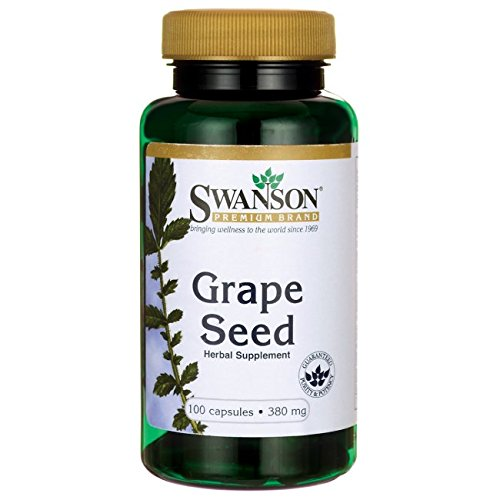 Swanson Grape Seed 380 Milligrams 100 Capsules