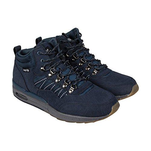 HUF Men's HR-1 Boot Inspired Runner, Dark Navy/Charcoal Grey, 7 M US