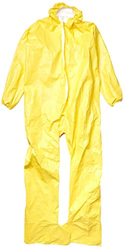 Dupont X-Large Yellow Tychem QC Chemical Protection Coveralls ()