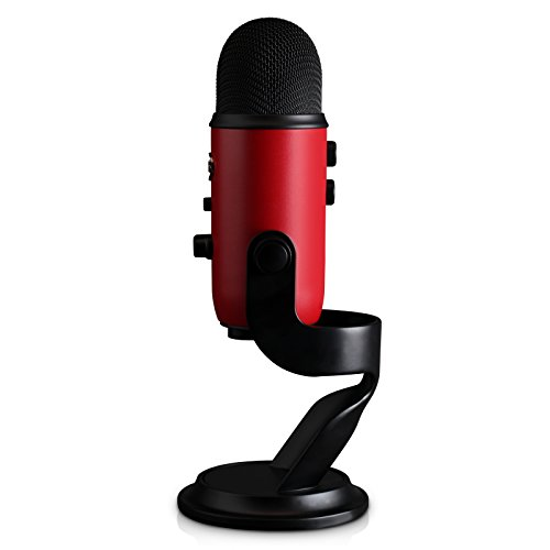 Blue Yeti USB Microphone - Satin Red by Blue (Image #2)