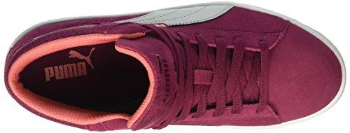 Gtx 1948 Baskets Basses Mixte gray Puma Plum Violet Rouge Enfant Mid red ndWqE