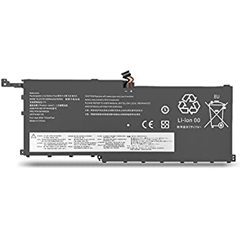 BatteryMon 00HW028 Battery for Lenovo Thinkpad X1 Carbon 4th Gen 2016 / ThinkPad X1 Yoga 1st 2nd Ultrabook, P/N: 00HW029 SB10F46466 SB10F46467 ...