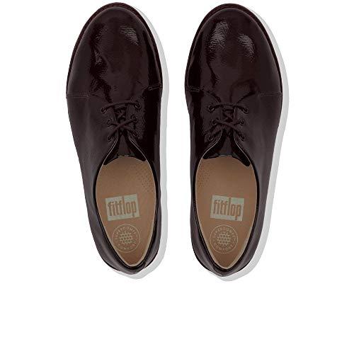 Berry EU Cordones Derby Mujer Fitflop 42 Bluchers de Zapatos para Rojo y F7Pqzf