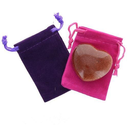 Violette Pochette Generic Rouge Une Large Dans Doré Coeur x0qwR6U
