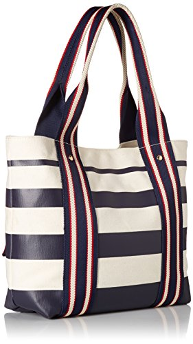 Tommy Canvas for Navy Bag Canvas Item Shopper Women's Bag Tommy Women Item Hilfiger for Shopper Women w6HaqFx