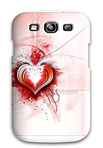 AnnaSanders Fashion Protective Love Artistic Abstract Artistic Case Cover For Galaxy S3