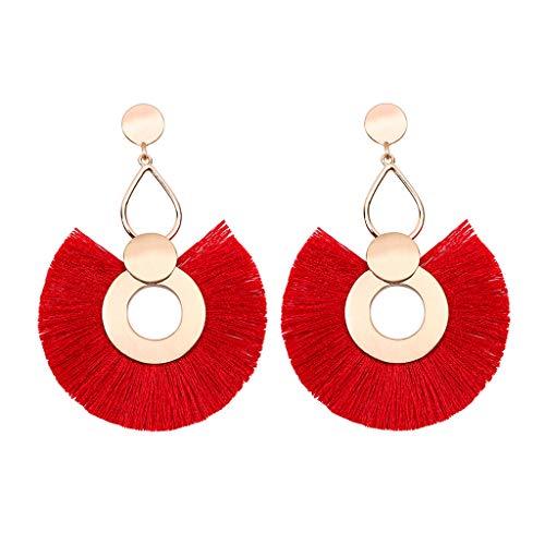 Cathy Clara Women Vintage Bohemian Boho Charm Alloy Carved Flowers Punk Dangle Earrings Gift for Women Teen Girls Jewelry