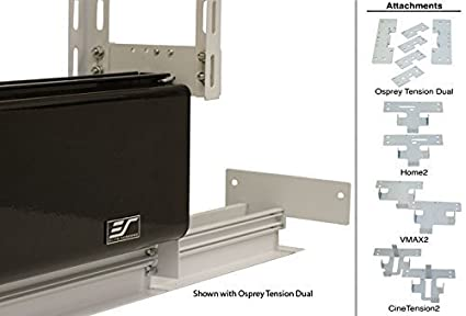 Amazon.com: Elite Screens Universal Ceiling Trim Kit for Concealed Hidden In-ceiling Projector Screen Installation, ZCU2: Home Audio & Theater