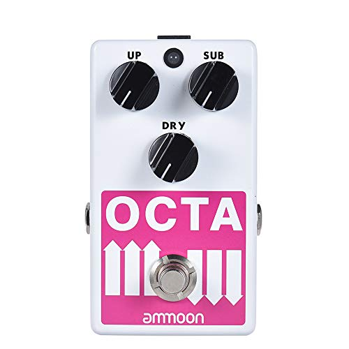 ammoon Precise Polyphonic Octave Generator Pedal