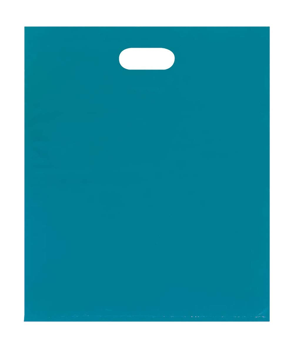 Merchandise Bags - Lightweight - Teal - (15x18) - Pack of 500
