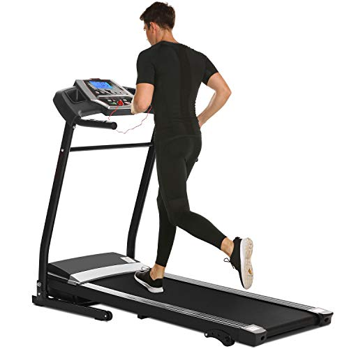 Miageek Fitness Folding Electric Jogging Treadmill with Smartphone APP Control, Walking Running Exercise Machine Incline Trainer Equipment Easy Assembly by Miageek