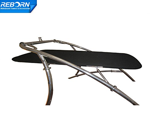 (Reborn wakeboard tower bimini PRO1580 Black canopy)