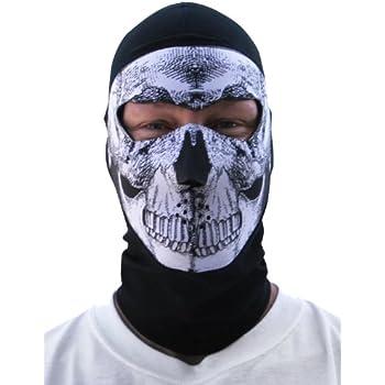Amazon.com: Zan Headgear Skull Neoprene Cold Weather Face