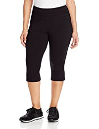 Women's Plus-Size Slim-Fit Crop Pant