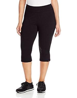Women's Plus-Size Slim-Fit Crop Pant