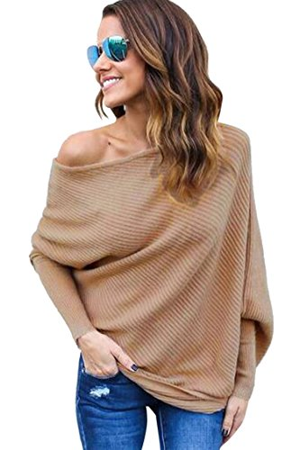 Sovoyant Batwing Shoulder Pullover Sweater