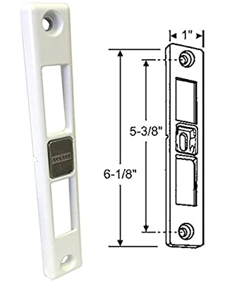 Patio Door Keeper for Dual-Point Mortise Lock, Works on Milgard Patio Doors