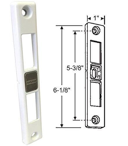 Patio Door Keeper for Dual-Point Mortise Lock, Works on Milgard Patio Doors