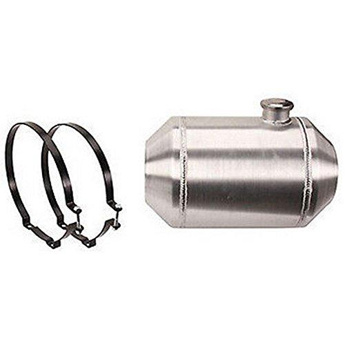 Aluminum Gas Tank (10 x 16-1/2 Inch End Fill Spun Aluminum Gas Tank 5 Gallon - Off-road / Tractor Pull)