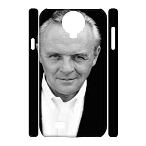 3D [Male Celebritys] Anthony Hopkins Case for Samsung Galaxy S4 {White}