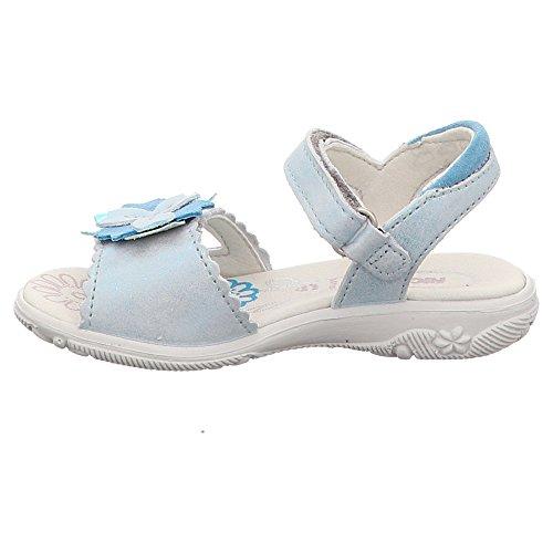 410463 Silber Mädchen 92 M Sandale Ricosta Wasser Blau OIqa8
