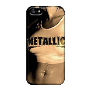 High-quality Durable Protection Case For Iphone 5/5s(metallica)