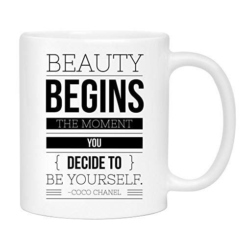 66ed8ba8b1c2 Coco Chanel BeautyCoffee Mug - Cute Sarcastic Funny Cup for Women - Unique  Fun Gifts for