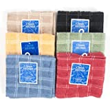 DISH CLOTH 2PK 12X12 6 ASST COLORS, Case Pack of 72