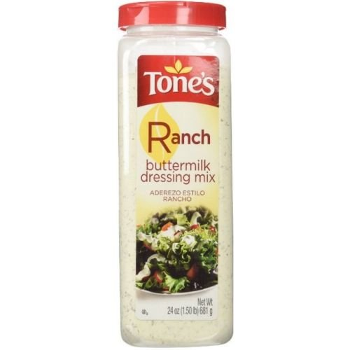 Tones Buttermilk Ranch Dressing Mix, 24 Ounce -- 12 per case.