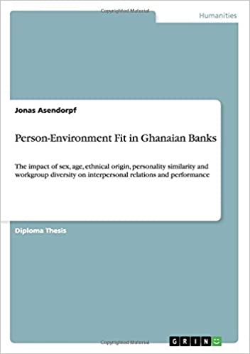 Book Person-Environment Fit in Ghanaian Banks