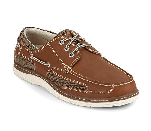 (Dockers Men's Lakeport Boat Shoe, Dark Taupe - 13 D(M) US)