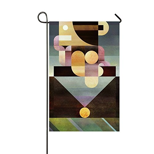 azfvv Unstable Thinker Garden Printed Flag Double-sided Home Flag Weather Resistant-16 x 30 Inches -