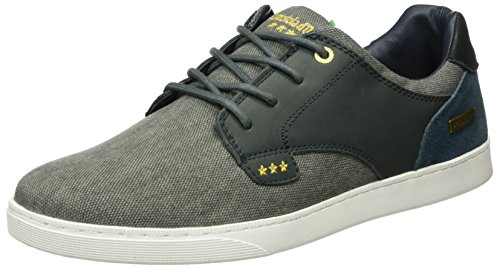 Indigo Prato Herren Low Pantofola Blue d'Oro Blau Men Canvas Top vFfnzw