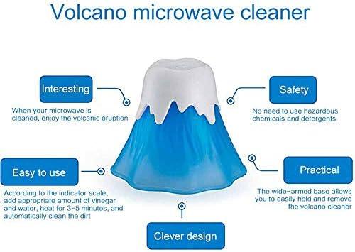 MOGOI Limpiador de microondas, Volcano Horno de acción rápida ...