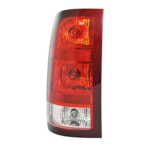 (Left Driver Side Tail Light Assembly For 2007-2013 GMC SIERRA 1500 (SL, SLE, SLT, WT) - 2007-2010 GMC SIERRA 2500 HD - GM2800208)