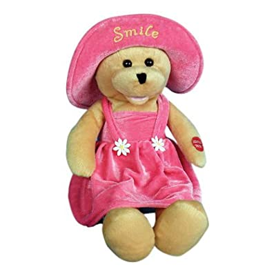 "Chantilly Lane 17"" Connie Talbot Smile Bear Sings ""Smile"": Toys & Games"