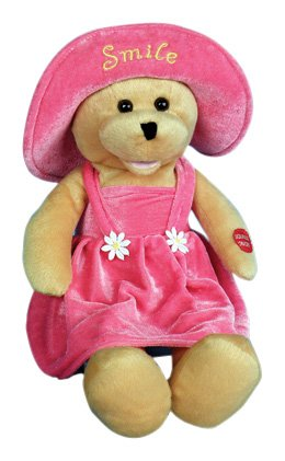 "Chantilly Lane 17"" Connie Talbot Smile Bear Sings Smile"