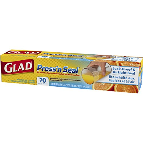 012587704417 - Glad Press'n Seal Food Plastic Wrap - 70 Square Foot Roll carousel main 2