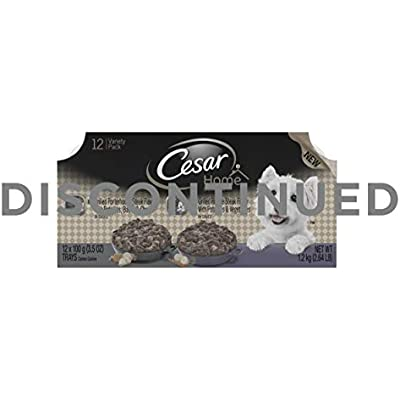 Cesar Home Delight Wet Dog Food Variety Packs - 12 Trays