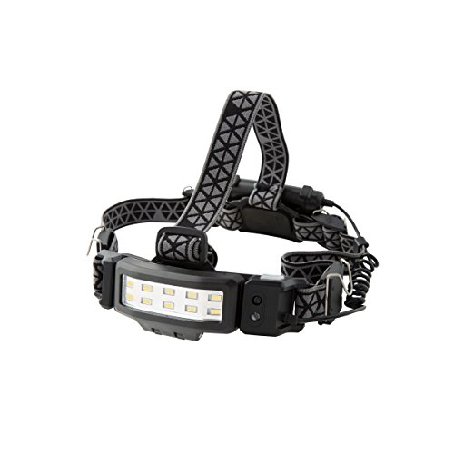 Illuminator 41944 250-Lumen White LED Headlamp Slim Profile Motion Activated Hands-free 3 AA Duracell Batteries Included