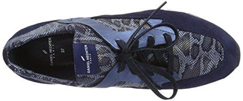 Daniel Hechter Damen Hj820636 Sneaker Blau (Navy / Jeans)
