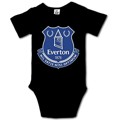 Cotton Bodysuit Romper Onesie Jumpsuit Baby Clothes (Everton Football Shirt)