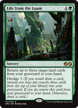 Magic: The Gathering - Life from The Loam - Ultimate Masters - Rare (Rare Life)