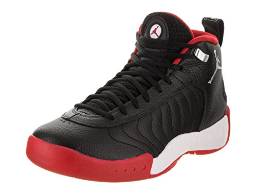 Black Jordan Shoes (Jordan Nike Men's Jumpman Pro Black/Varsity Red White Basketball Shoe 10 Men US)