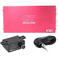 CT Sounds 750.1D amp amplifier 750w RMS / 1500w MAX Class D Channel - Titanium