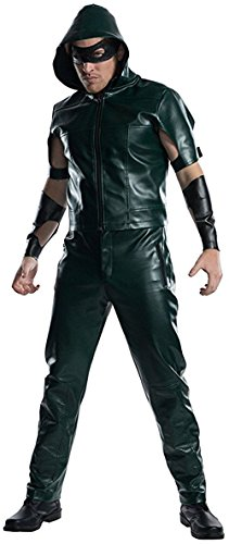 Charades Men's Licensed Arrow Hooded Shirt Costume,