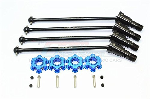 Harden Steel  45 Front And And And Rear CVD Drive Shaft With Aluminium Hex For Traxxas X-Maxx 8S - 2Prs Set Blau 74da2e