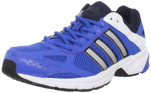 Adidas Mens Duramo 4 Scarpe Da Trail Running Blu / Nero / Argento Metallizzato