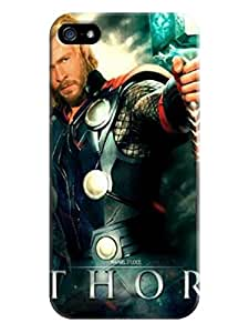 RebeccaMEI TPU Hot Sale Unique cool fashionable Chris Hemsworth Thor Design for iphone 5/5s Phone Case